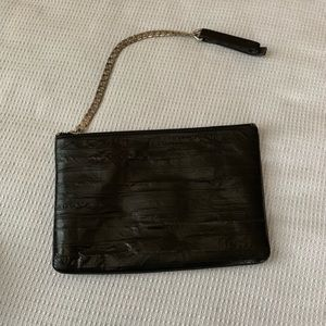 All Saints Leather Clutch